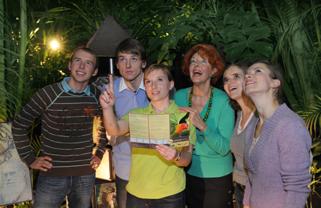 Dschungel-Incentives in der Biosphäre Potsdam 3